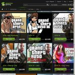 GMG - GTA Titles 75% off