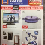 """Bauhn 21.5"""" Full HD LED LCD TV $99 and Many More Specials @ ALDI Bass Hill NSW (Opening 28 Aug)"""