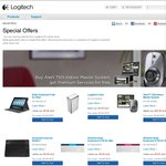 Up to $100 off on Selected Logitech Products