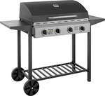 Rays Outdoors - Brahman 4 Burner Hooded BBQ $79 VIP Price, Save $120.00 - Membership Free