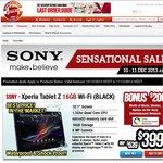 Sony Xperia Tablet Z 16GB  $399 + $200 Voucher, Sony Vaio Pro 13 Haswell i5 Full HD $1099 + Ship