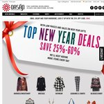 Oasap Clothing New Year Deals: Save 25%-60% + Free Shipping