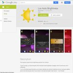 50% off Android app 'Lux Auto Brightness' (Was $4.00, Now $1.98)