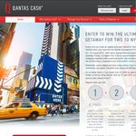 Spend $250.00 on Qantas Cash and Get 2500 FF Points