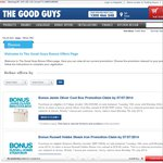 The Good Guys Bonus Offers - Gifts and Store Credit Purchases