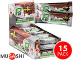 15 Musashi P10 Low Carb Protein Bars $12.95 Delivered ($0.86 ea) @ COTD (More Great Deals Below)