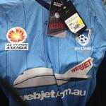 Sydney FC Jersey 2012 Home/Away Jerseys Reduced to $40 @ In Sport Westfield Burwood NSW
