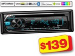 Kenwood CD TUNER KDC-U559BT Autobarn $139 Bluetooth / CD / AM/FM / Hands-free