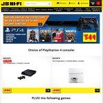 PS4 White Or Black + Bloodborne + The Order 1886 + Far Cry 4 + Driveclub $549 @ JB Hi-Fi