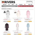 Rivers - 40% off Women Full Priced Clothing, Shoes and Accessories + Other Sale Items