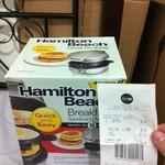 $5 Hamilton Beach Sandwich Maker (Was $39), 30 pcs Tumblers $3.5 (was $29) @ Big W Nationwide