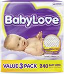 BabyLove Wipes with Aloe Vera Bulk 240 Pack $4.99 (Save $8) @ Chemist Warehouse