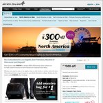 Air New Zealand - $300 off RET Econ Flights to North America - $400 off RET South America