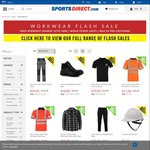 Workwear Flash Sale up to 90% off - SportsDirect