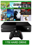 Xbox1 1TB Console + Guitar Hero Live/Halo5 Guardians/GoW: Ultimate/Rare Replay/Evolve/Sunset Overdrive/Skylanders/Ori - $478 @EB