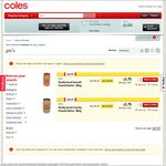50% off: Pic's Really Good Peanut Butter 380g $3.75, Cheerios Low Sugar or Multigrain 320g $2.04 + More @ Coles