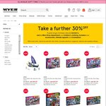 Clearance Lego at Myer (Further 30% off Reduced Prices) - Rey's Speeder $20.96, Ninjago & Friends