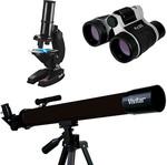 Vivitar - Telescope, Binoculars & Microscope Bundle @ Target - Clearance $10