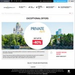 Up to 40% off Accor Properties (Aus, NZ and More) Via Accor Private Sales (Must Be Member)