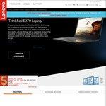 "New Model ThinkPad E570 Gen7 i7-7500U, 16GB RAM, 256GB SSD, 15.6"" FHD, 2GB Nvidia $1111 Shipped @ Lenovo"