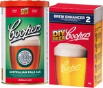 Coopers Home Brew, Aus Pale Ale + Brew Enhancer No.2. $15.00 (Members Offer) @ Dan Murphy's