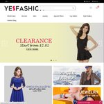 21% off Sitewide at YesFashion &Free Shipping