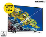 "Bauhn 65"" Ultra HD LED TV $899, 40"" Full HD $333, Android Media Player $79, BT Headphones $39 @ ALDI 25/3"