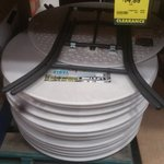 Round Folding Table 838mm - CLEARANCE $14.99 (Was $24.50) @ Bunnings [Shellharbour, NSW]
