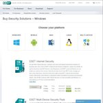70% off on ESET Internet Security Products - 1 Year: $17.99, 2 Years: $28.78, 3 Years: $37.76