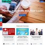 Sitewide Discount of 80% - 100+ Courses to Choose From - Yakufa