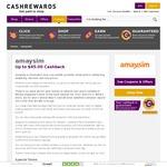 Buy an Amaysim Unlimited 1.5GB SIM Starter for $9.90 & Get $32 Cashback (Approved 15 Days after Activation) @ Cashrewards
