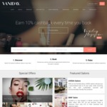 Vaniday $20 off Code First Beauty Treatment Booked with Vaniday. Minimum Order of $40, Valid until 31/07/2017