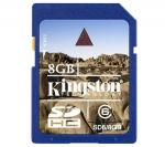 Kingston 8GB SDHC Class 6 Card for $16.95 with Free Delivery! Sold Out