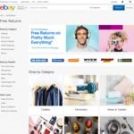 Free Returns on 'Pretty Much Everything' for Sellers that Accept Returns @ eBay