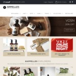 20% off Site Wide @ APPELLES Apothecary & Lab