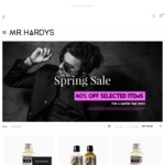 40% off Mens Grooming Products, Beard Oils $17, Moustache Wax $8 Plus FREE SHIPPING @ Mr Hardy's