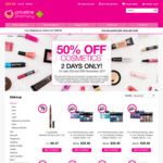 50% off Cosmetics (Excluding Gift Packs and Accessories) @ Priceline