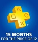 PlayStation Plus - 15 Months for The Price of 12 - $79.95 @ PlayStation Store