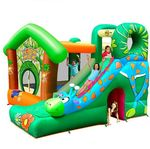 Happy Hop Jungle Fun Inflatable Park $79 (Once Was $699) After Apply For the Code C & C or +Postage Shipped @ Target