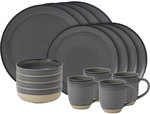 50ED Ellen DeGeneres 16 Piece Set Brushed Glaze Charcoal Grey: $124 (50% off) + Shipping @ Royal Doulton Outlet