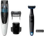 Philips Vacuum Beard Trimmer & Groomer Pack BT7204/85 $89 @Myer