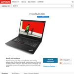 Lenovo ThinkPad E480 / 512SSD / 16GBDDR4 / RX550 2GB $1299 @ Lenovo