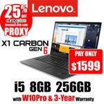 """[eBay Plus] Lenovo X1 Carbon G6 / 14"""" FHD IPS / i5-8250U / 8GB / 256GB / Win10Pro / 3Y-Warranty / $1599 Delivered @ OLC eBay"""