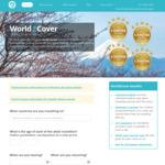 20% off World2Cover Travel Insurance via Red Energy