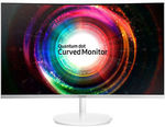 """Samsung C27H711QE 27"""" QLED QHD Curved Freesync 60Hz 2560 x 1440 Monitor $364 Delivered @ Futu Online eBay"""