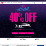40% off Sitewide on Full Price Items @ New Balance