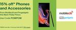 15% off Storewide @ Mobileciti eBay & ProGadgets eBay