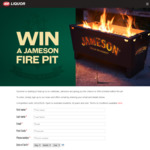 Win a Jameson Fire Pit Worth $400 from IGA Liquor