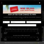 Win 1 of 5 $2,000 Flight Centre Vouchers from Ryobi