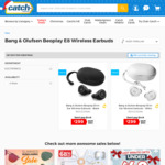 Beoplay E8 True Wireless Earbuds - $299 + Delivery (Free with Club Catch) @ Catch